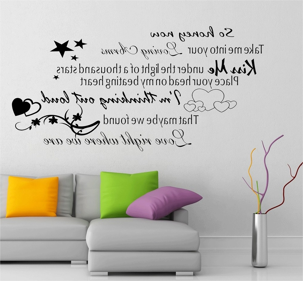 Featured Photo of Music Lyrics Wall Art
