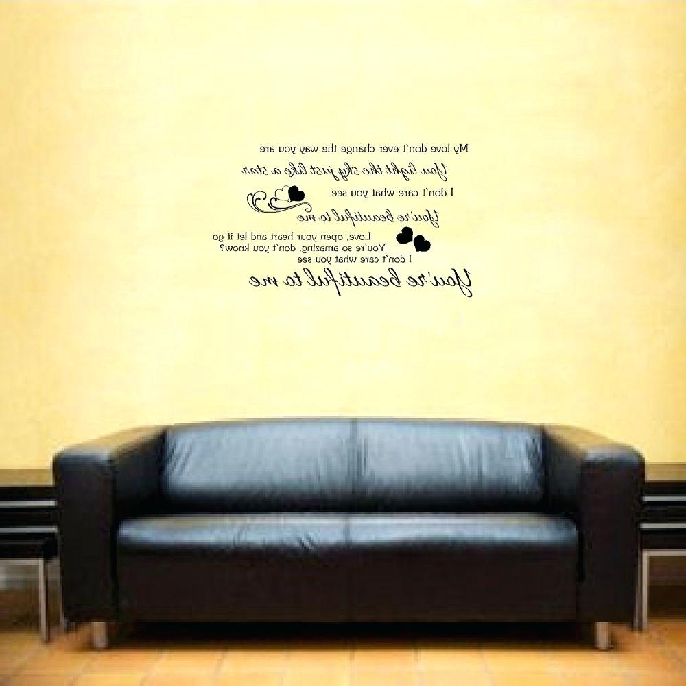 View Gallery of Music Lyrics Wall Art (Showing 5 of 15 Photos)