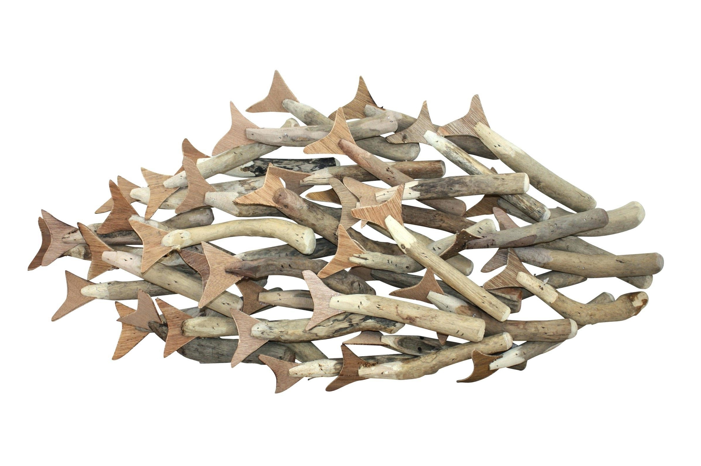The Best Metal School Of Fish Wall Art