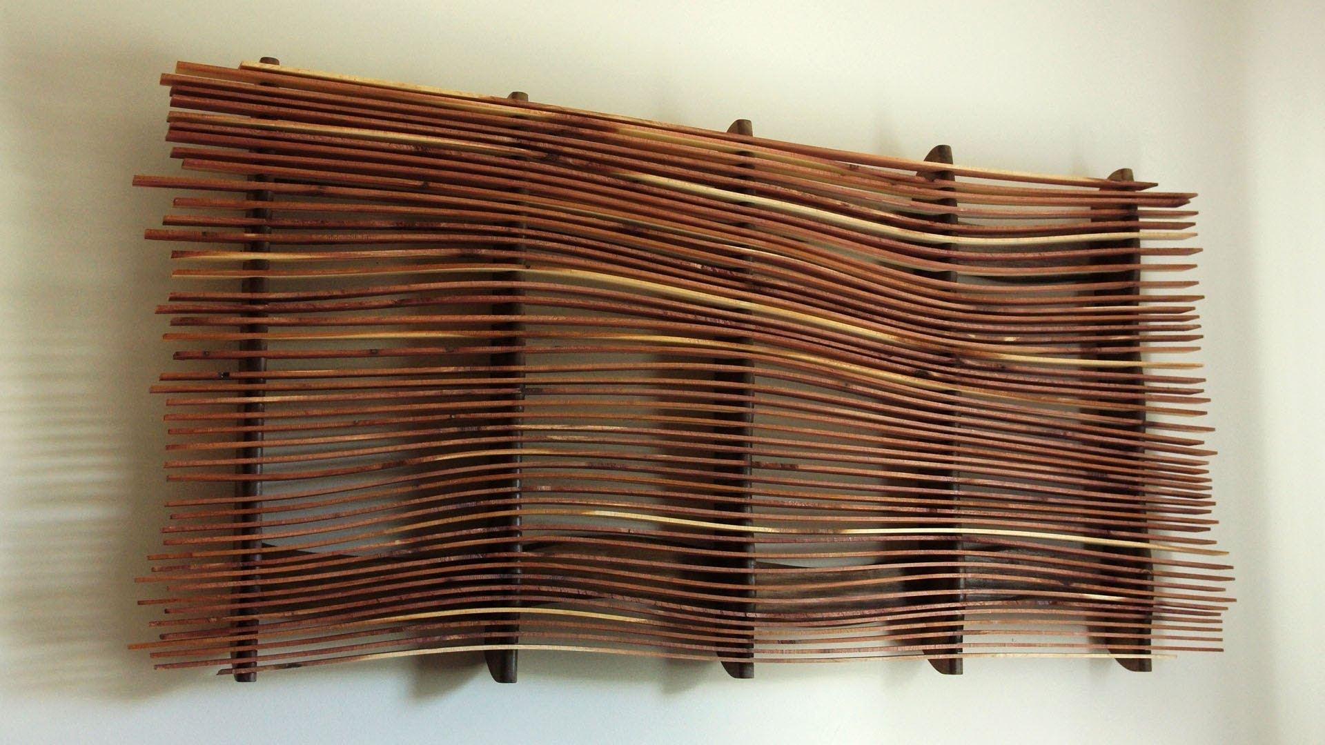 Natural Wood Wall Art Regarding Fashionable Scrap Wood Wall Art • Recous (View 7 of 15)