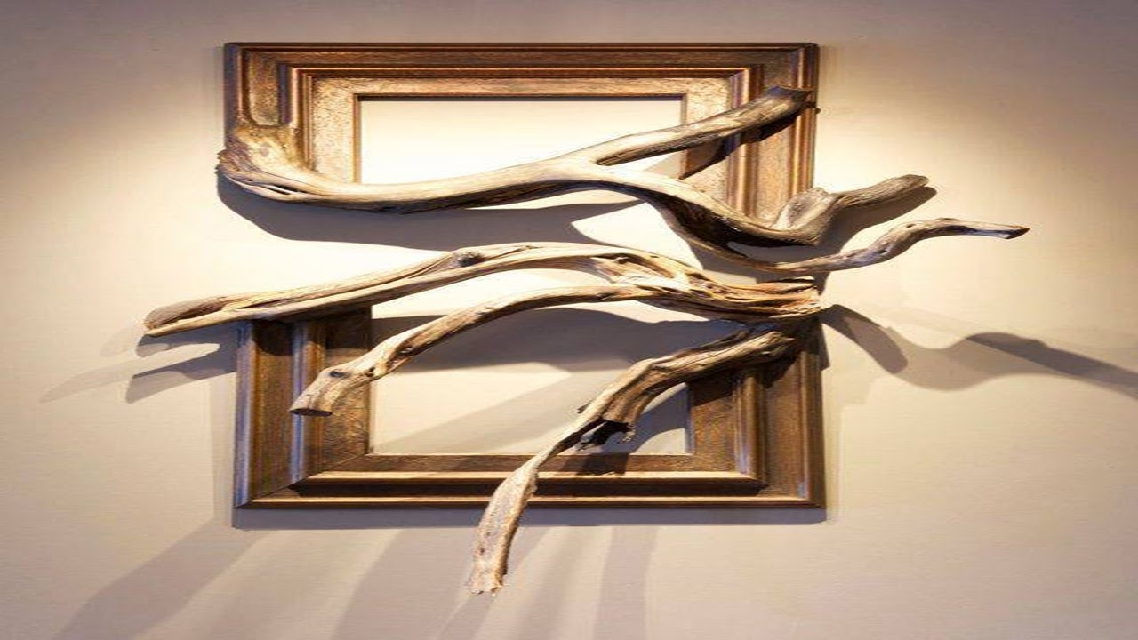 Natural Wood Wall Art Throughout Most Recent Wood Frame With Grafted Manzanita Branch ·▭· · ··· – Youtube (View 8 of 15)