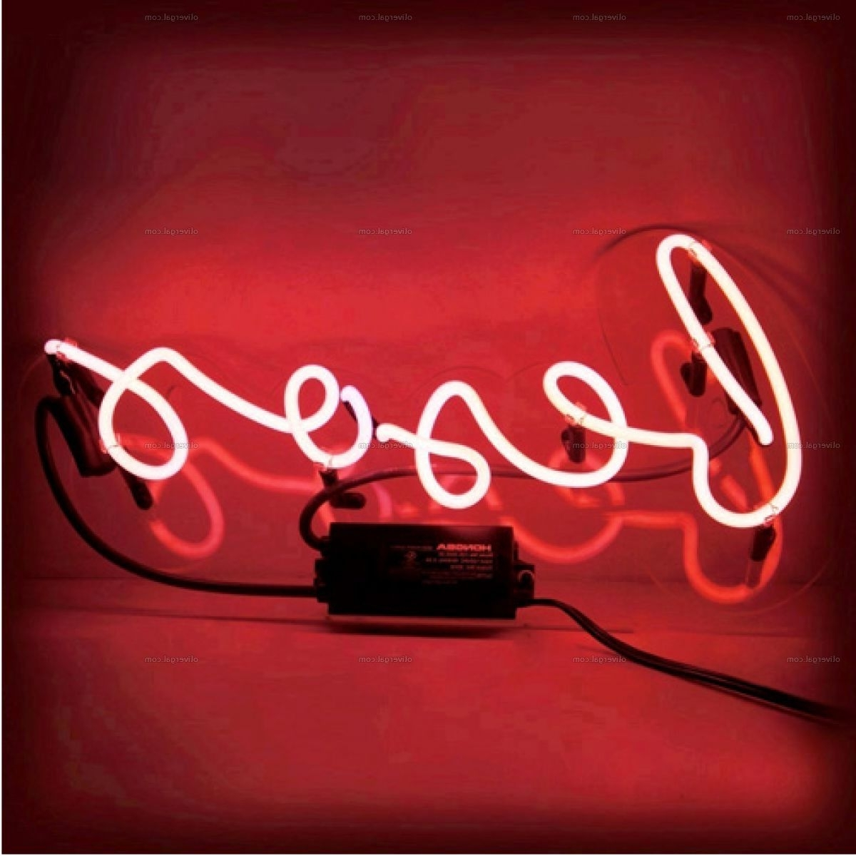 Neon Signs — Oliver Gal Throughout Latest Neon Light Wall Art (Gallery 12 of 15)
