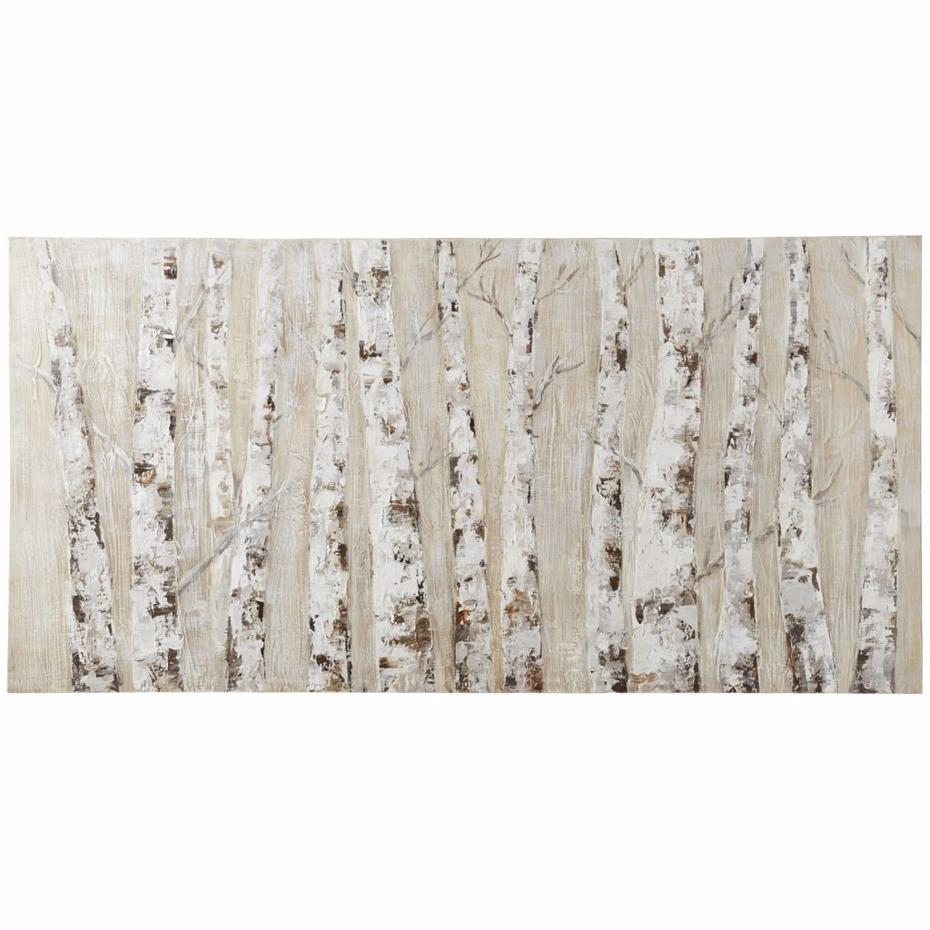 Neutral Wall Art Intended For Well Liked Cool Design Pier One Wall Art Also Neutral Birch 1 Imports (View 11 of 15)
