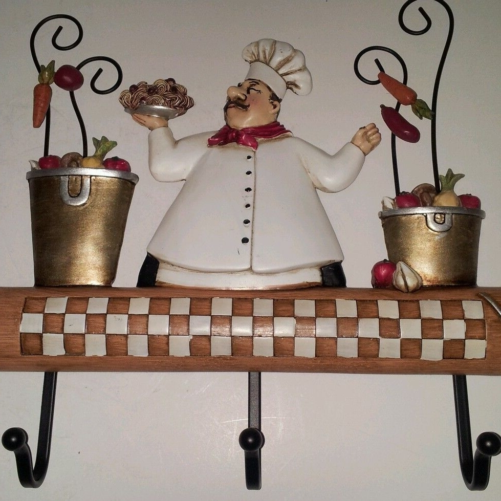 "New 10"" Fat French Italian Rolling Pin Chef Kitchen Hanging Wall Inside Fashionable Italian Bistro Wall Art (View 6 of 15)"