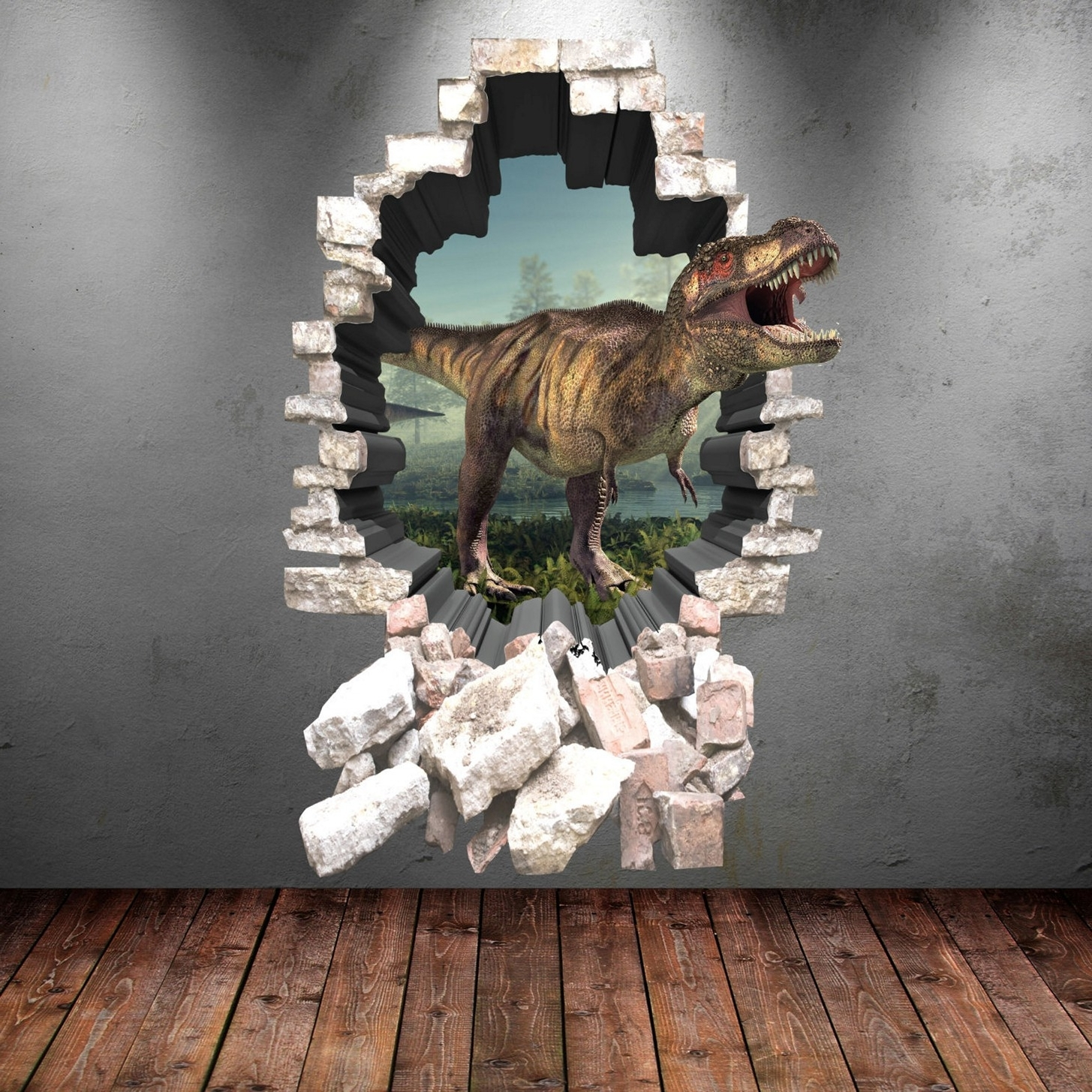 Newest 3D Floor Art Bathroom In 3D Wall Art For Bathroom (View 13 of 15)