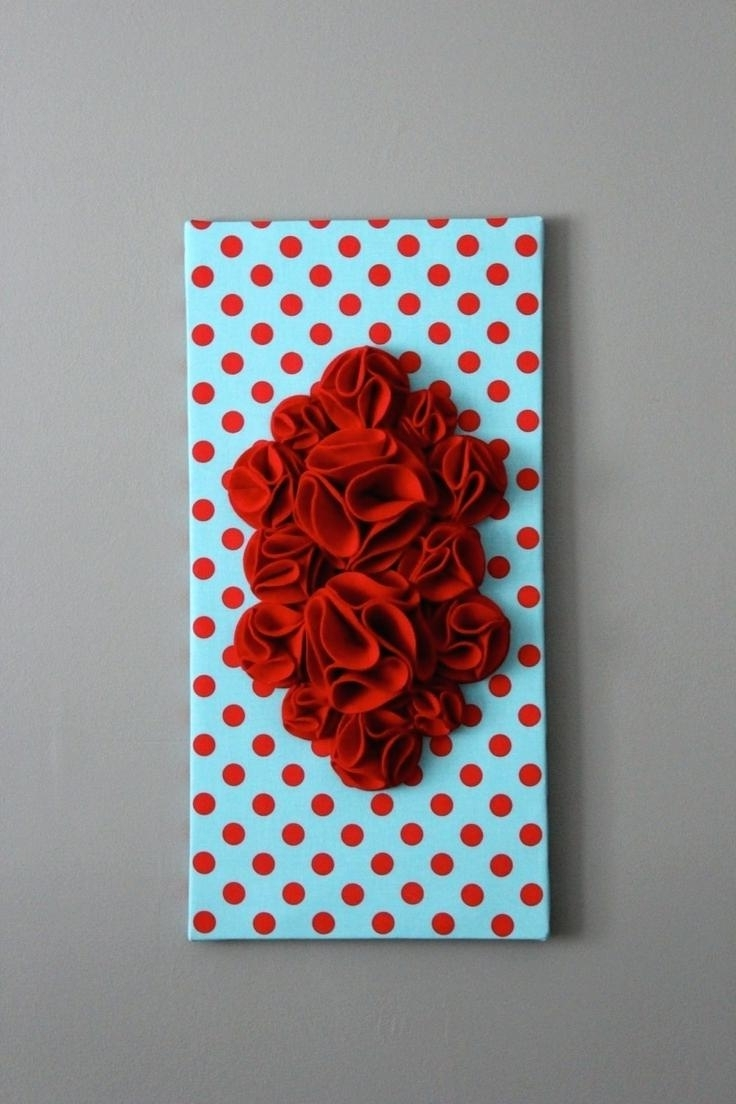 Newest 3d Wall Art Canvas Throughout Decoration: Diy 3d Wall Art (View 12 of 15)