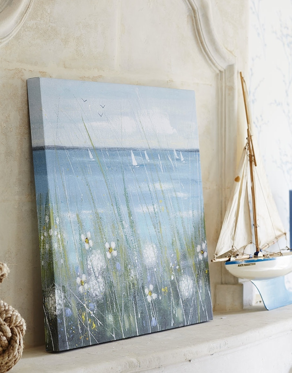 Newest 4 Ways To Wake Up Your Walls – The Laura Ashley Blog In Duck Egg Blue Wall Art (View 7 of 15)