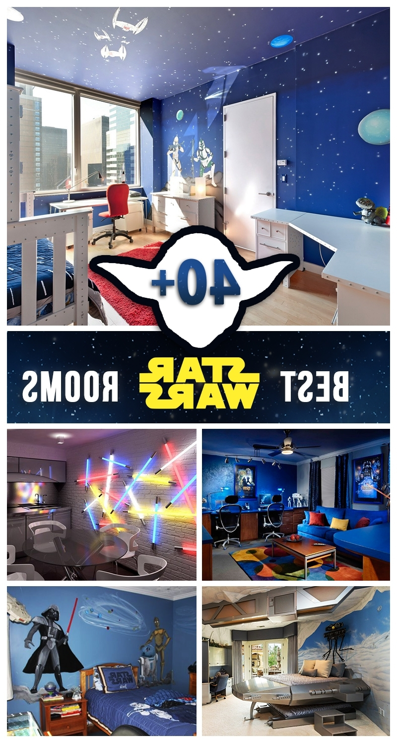 Newest 45 Best Star Wars Room Ideas For 2018 Regarding Lego Star Wars Wall Art (View 8 of 15)