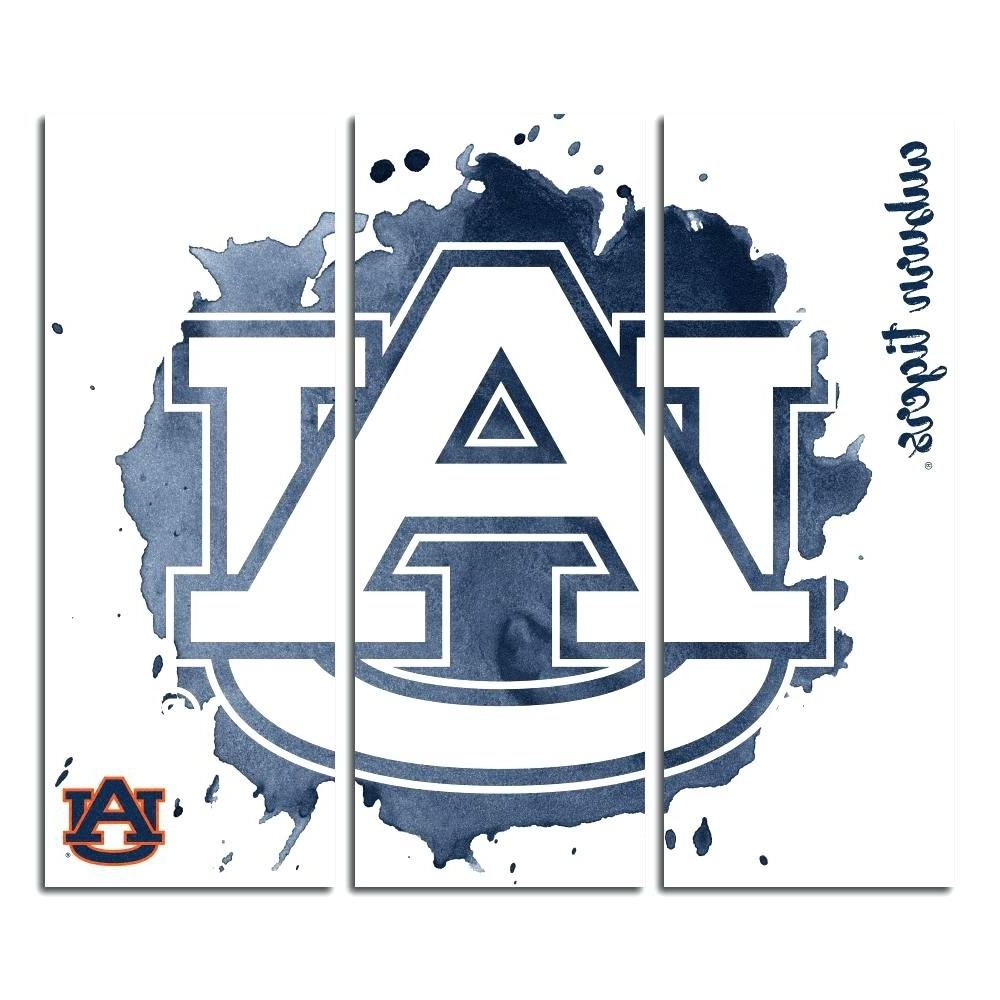 Newest Auburn Wall Art Intended For Wall Arts ~ Auburn Tigers Wall Art Auburn University Tigers (View 12 of 15)