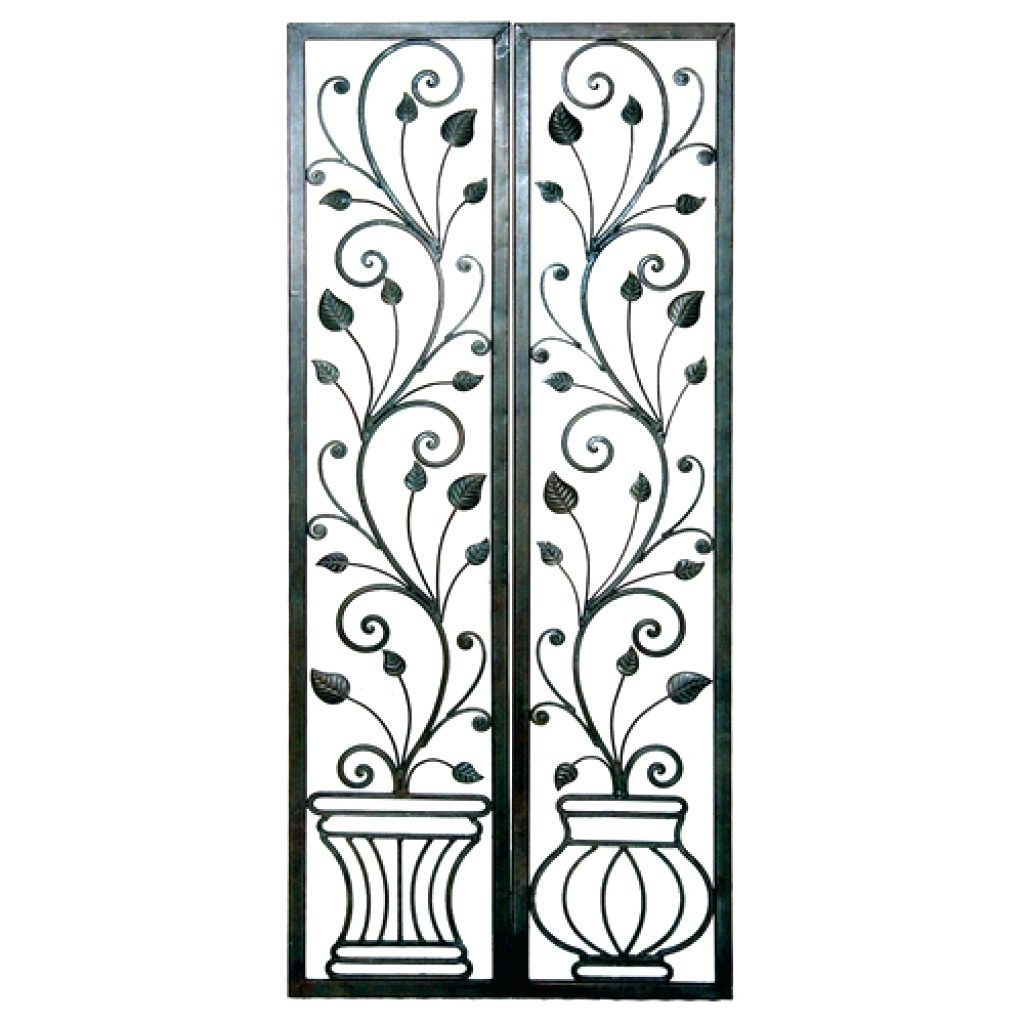 Featured Photo of Iron Scroll Wall Art