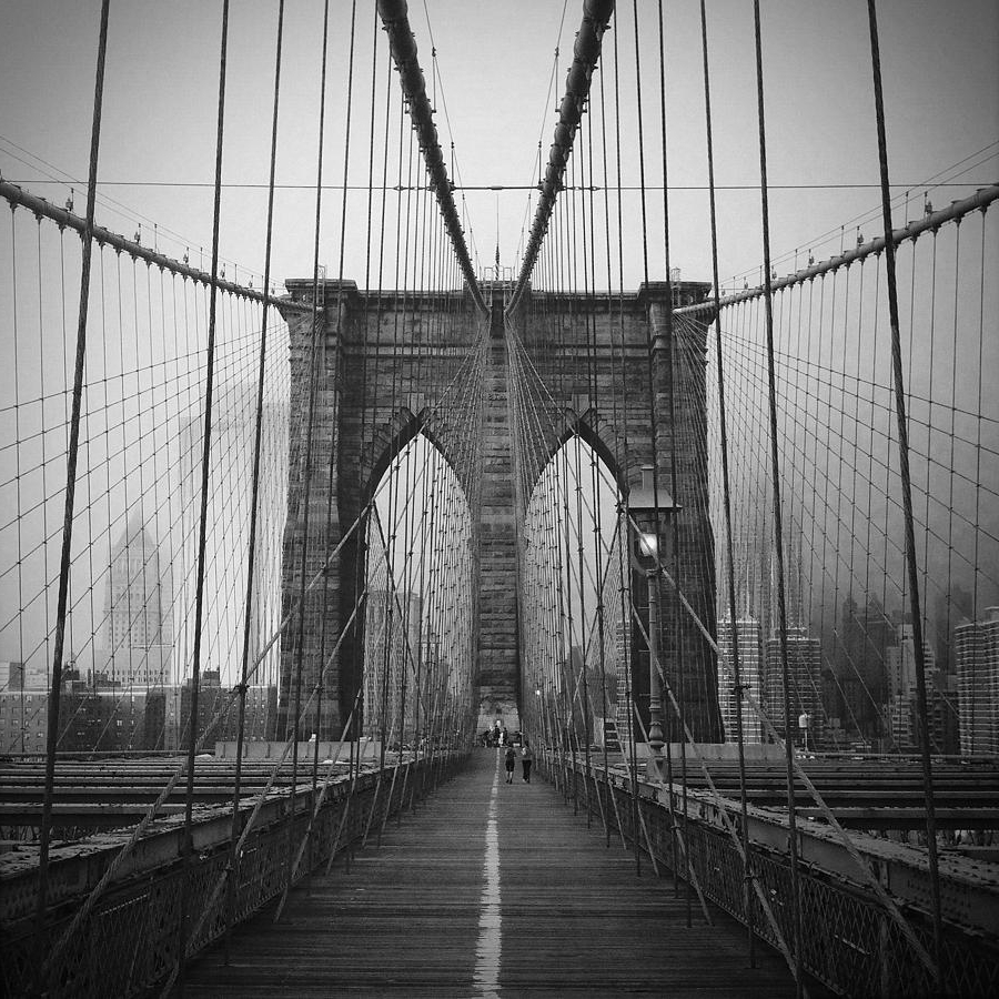 Newest Brooklyn Bridge Metal Wall Art Inside Brooklyn Bridge Photographeli Maier (View 8 of 15)