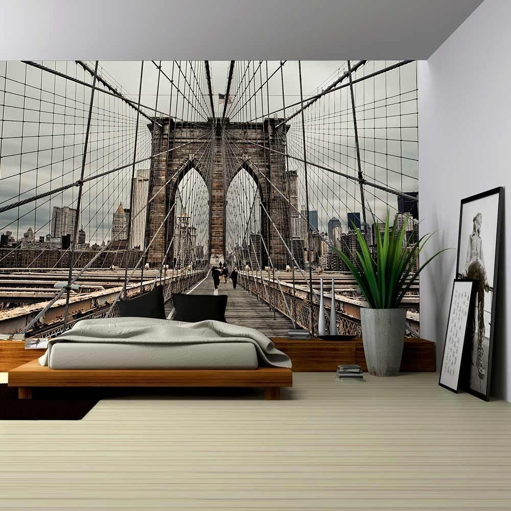Newest Brooklyn Bridge Wall Decals In Wall26 – Art Prints – Framed Art – Canvas Prints – Greeting (View 13 of 15)