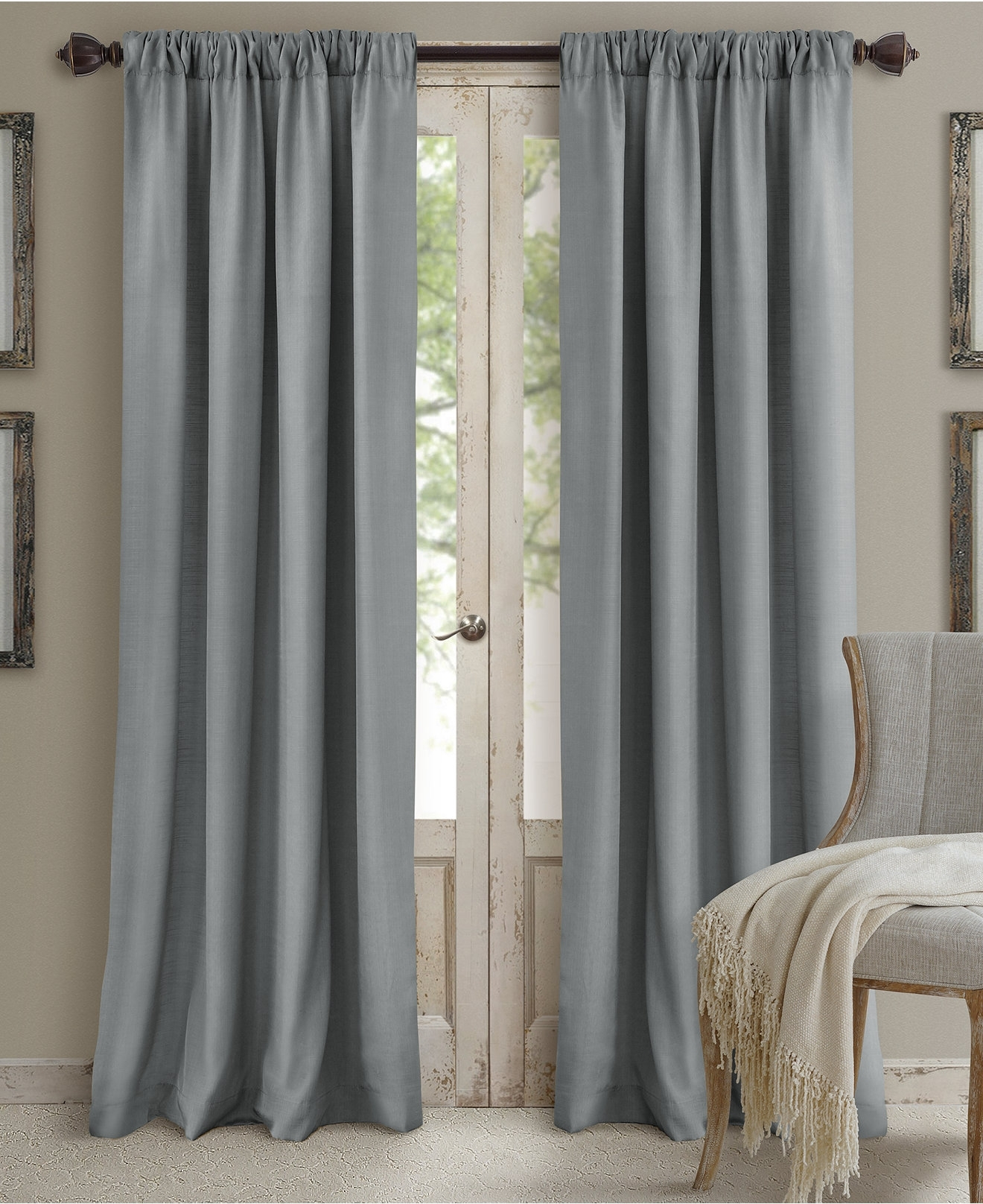 Newest Decor: Grey Macys Curtains Design Ideas With Wall Art Plus Wooden With Regard To Macys Wall Art (View 14 of 15)