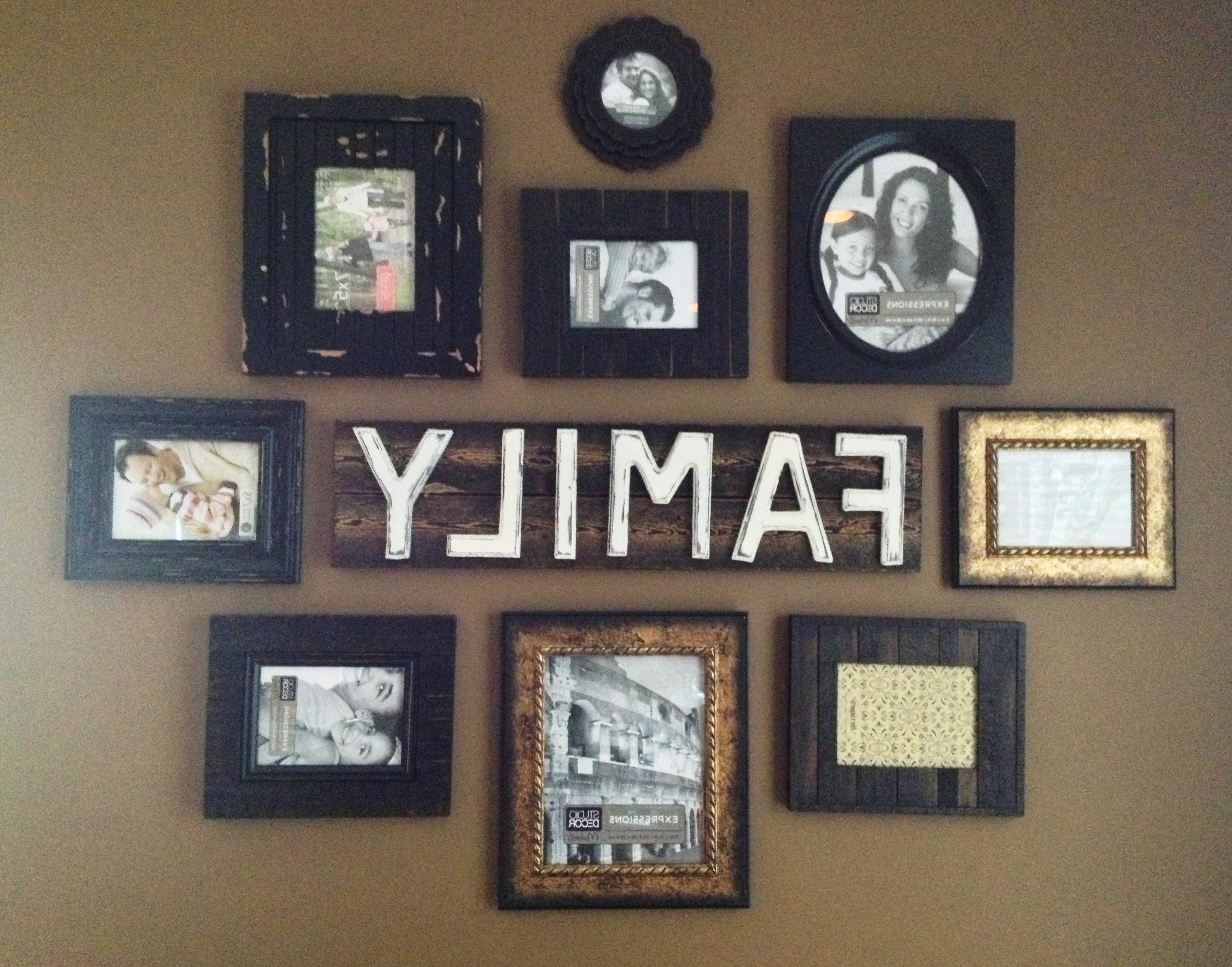 Newest Family Wall Art Picture Frames (View 5 of 15)
