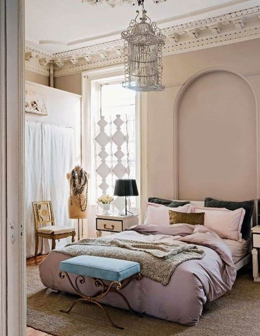 Newest Feminine Wall Art Intended For Bedroom Design: Feminine Bedding Ideas Beautiful Beds Accent (View 7 of 15)
