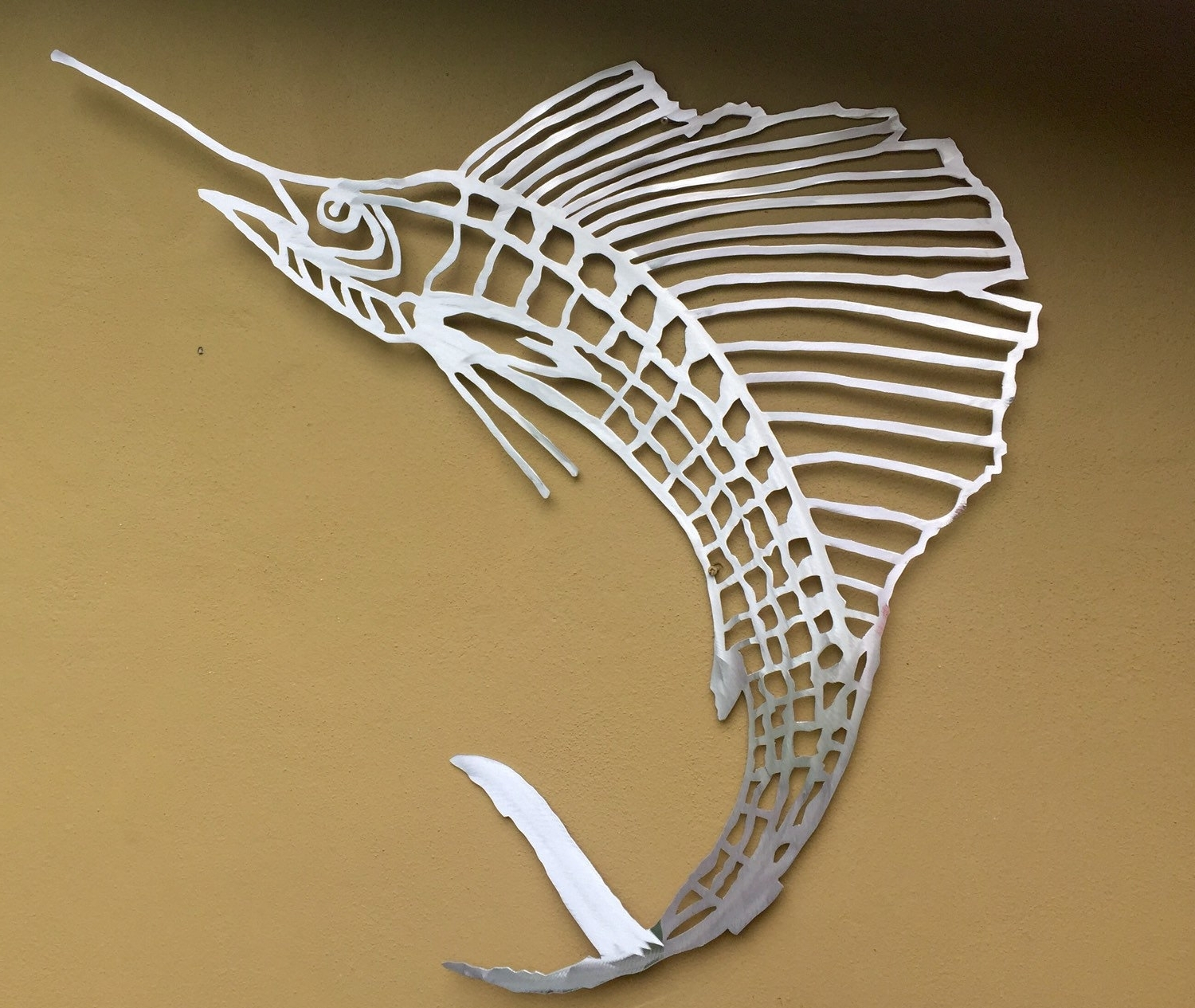15 Collection Of Fish Bone Wall Art