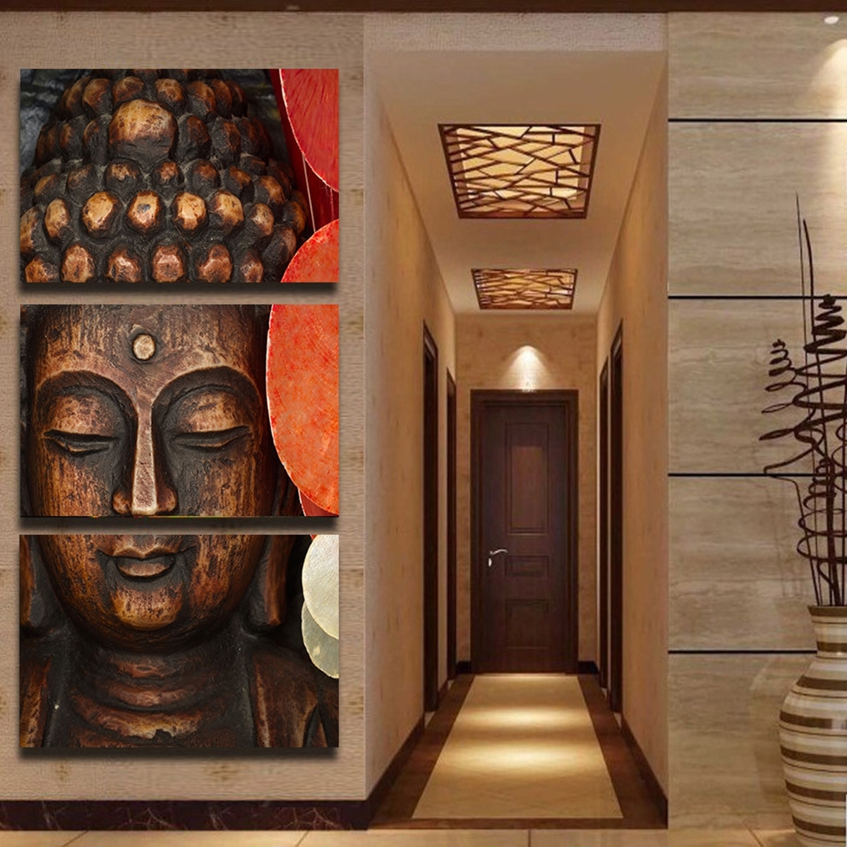 Newest Unique 50+ Buddha Wall Decor Decorating Design Of Online Get Cheap Intended For 3D Buddha Wall Art (View 10 of 15)