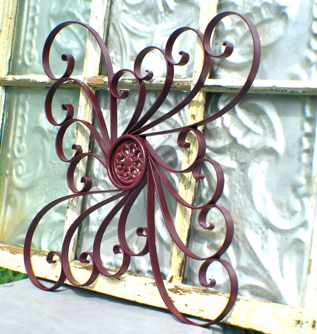 Newest Wall Arts ~ 3D Sun Face Metal Outdoor Wall Art Wrought Iron Pertaining To Wrought Iron Garden Wall Art (View 6 of 15)