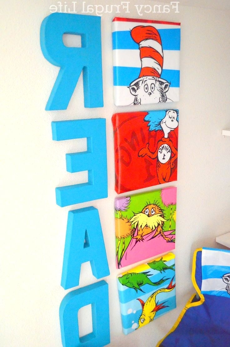 Newest Wall Arts ~ Fancy Dr Seuss Canvas Wall Art 81 In Dorothy Dandridge With Dr Seuss Canvas Wall Art (View 2 of 15)