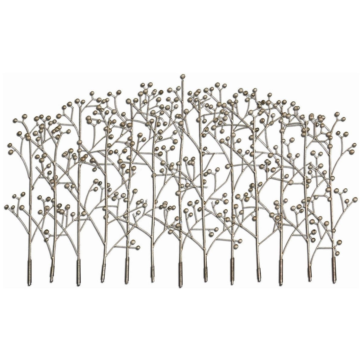 Newest Wrought Iron Tree Wall Art Pertaining To Amazon: Uttermost 05018 Iron Trees Metal Wall Art: Wall (View 7 of 15)