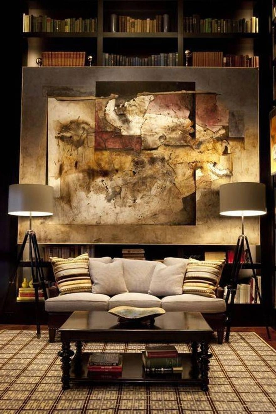 Nice Design Masculine Wall Art Or Living Room Cool Bachelor Pad Throughout 2018 Masculine Wall Art (Gallery 1 of 15)