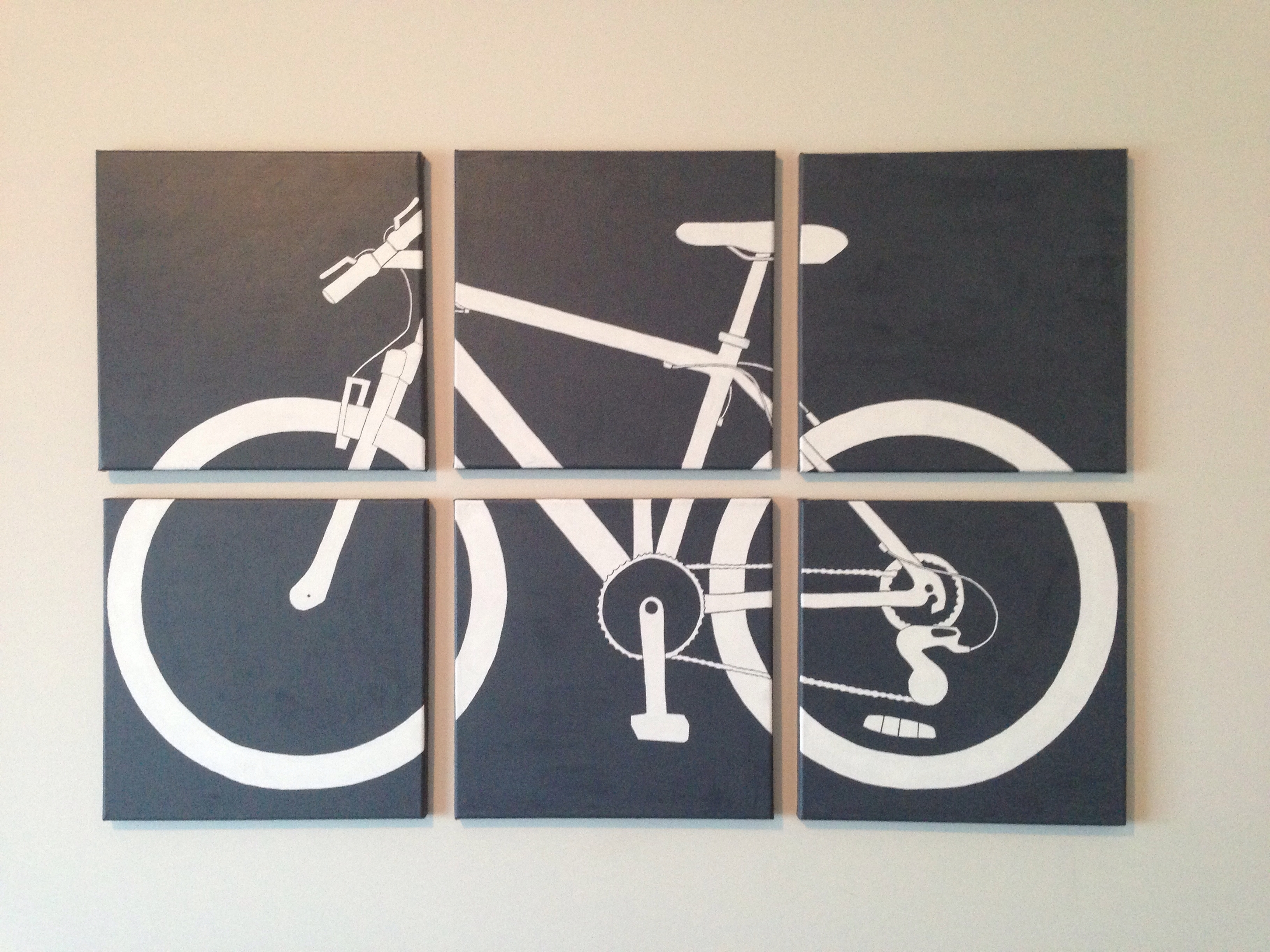 Nicki's Projects Pertaining To Most Recently Released Bike Wall Art (View 3 of 15)