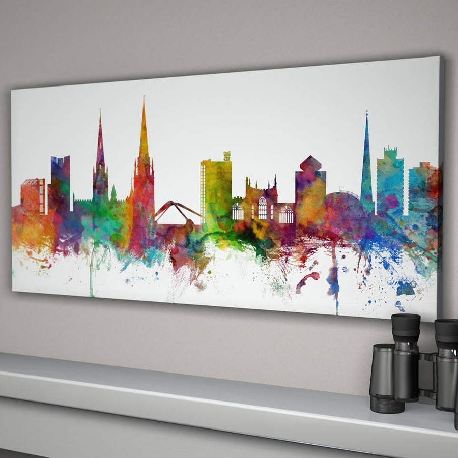 Notonthehighstreet With Regard To Well Liked Cityscape Canvas Wall Art (View 6 of 15)
