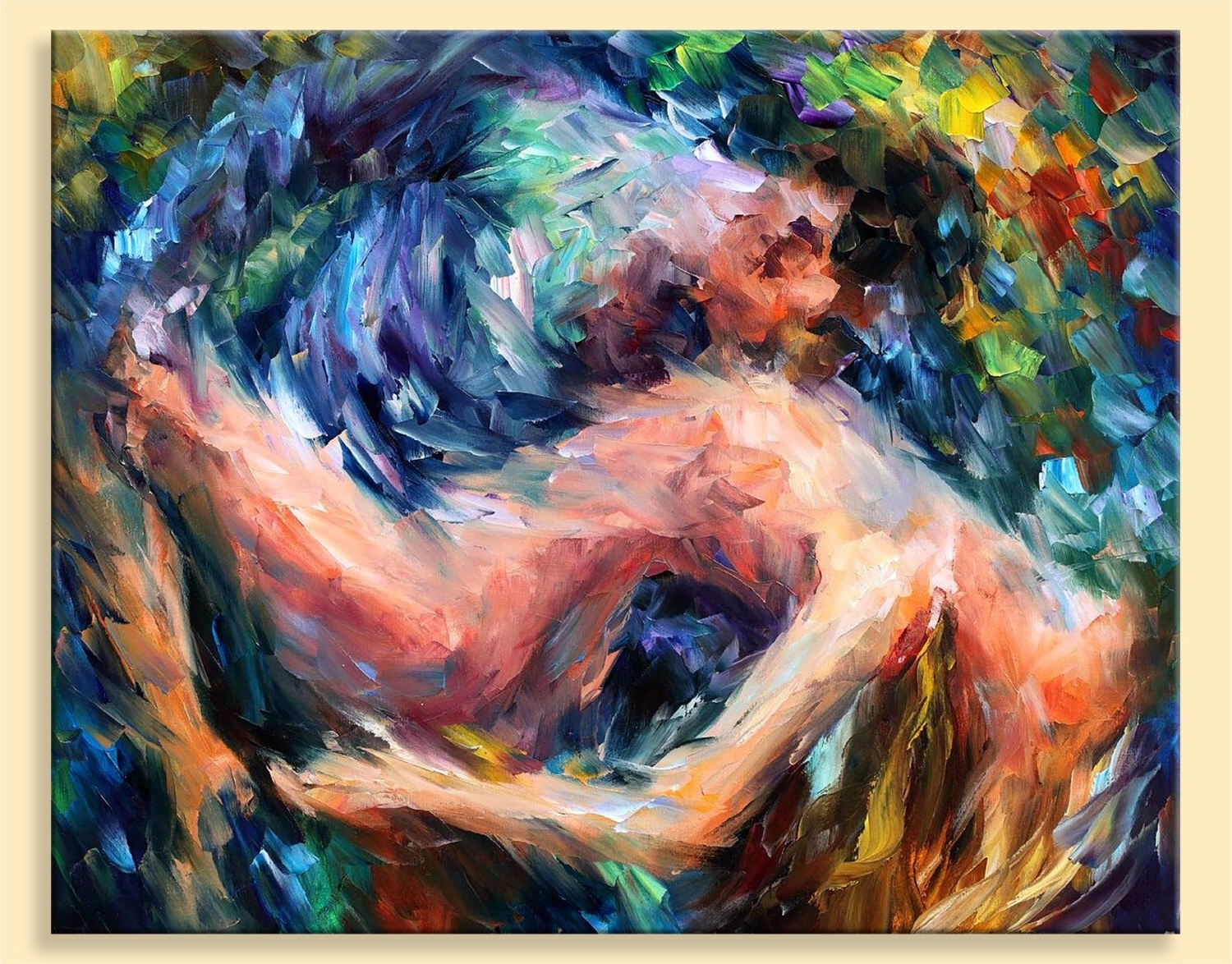 Nude Wall Art – Sea Of Feelings — Limited Edition Naked Woman Regarding Favorite Limited Edition Wall Art (View 10 of 15)