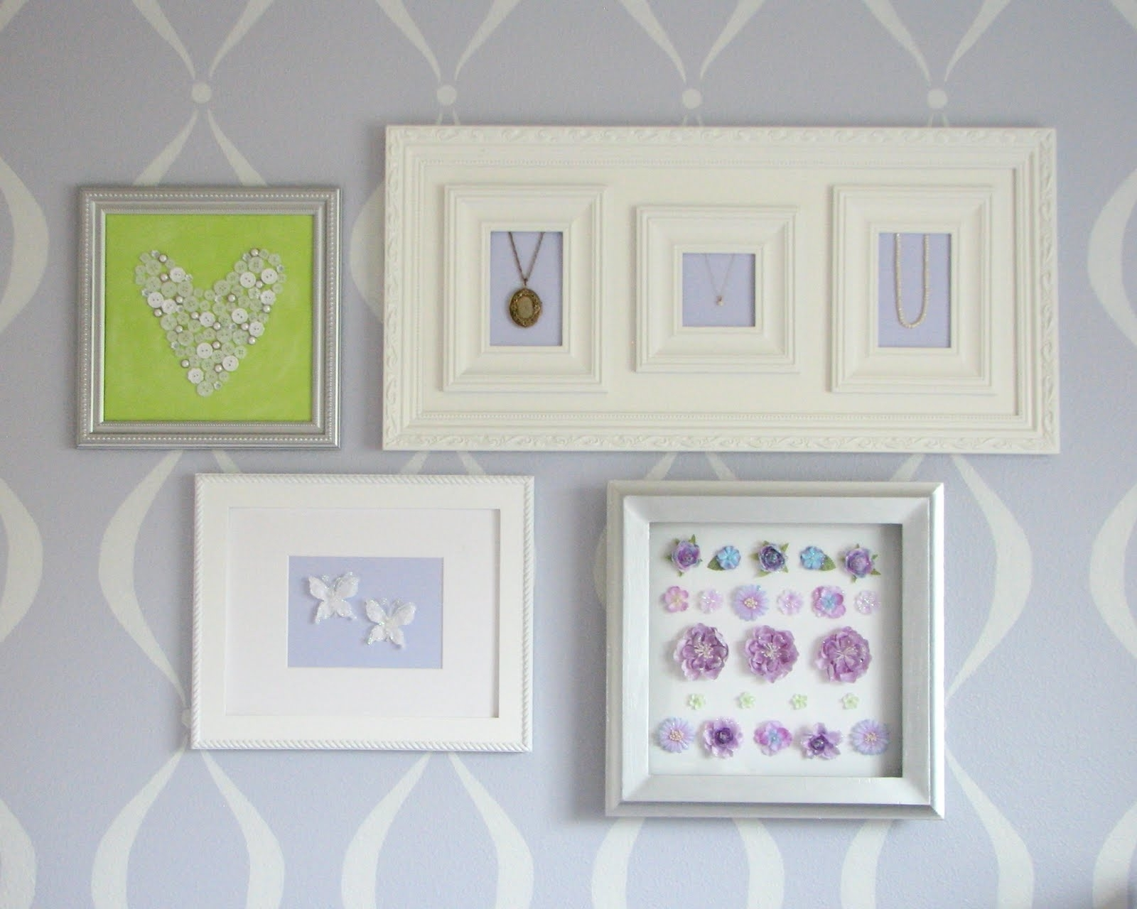 Nursery Framed Wall Art In Most Current What I Made Today: Baby Girl's Nursery: Wall Art (View 10 of 15)