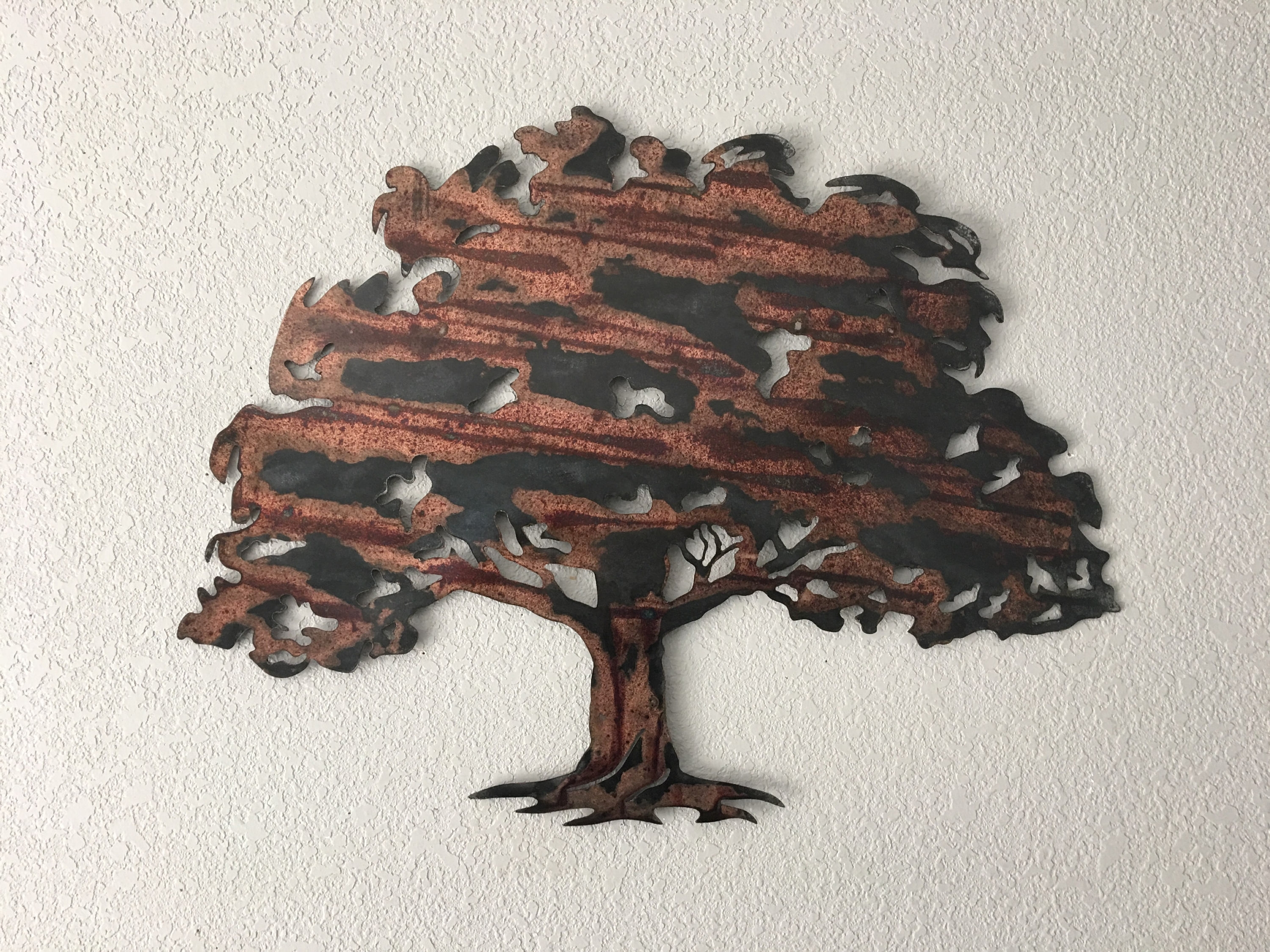 Oak Tree Metal Wall Art Regarding Popular Oak Tree – Metal Tree Art – Wall Art (View 4 of 15)