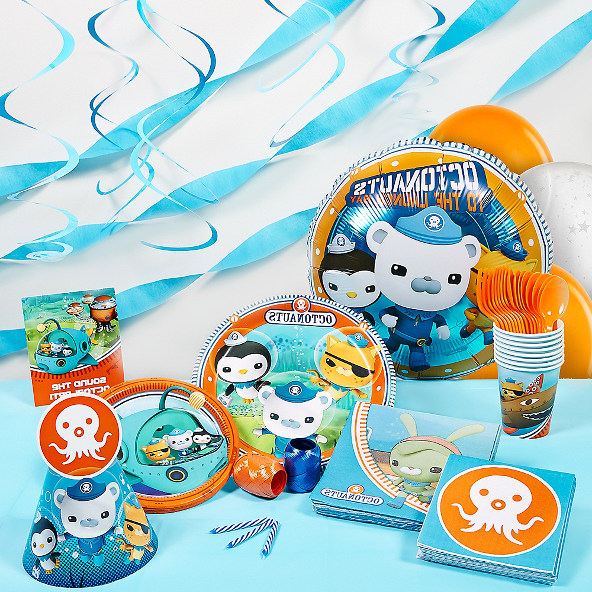 Octonauts Wall Art Regarding Well Known Octonauts Super Deluxe Party Kit – Walmart (View 5 of 15)