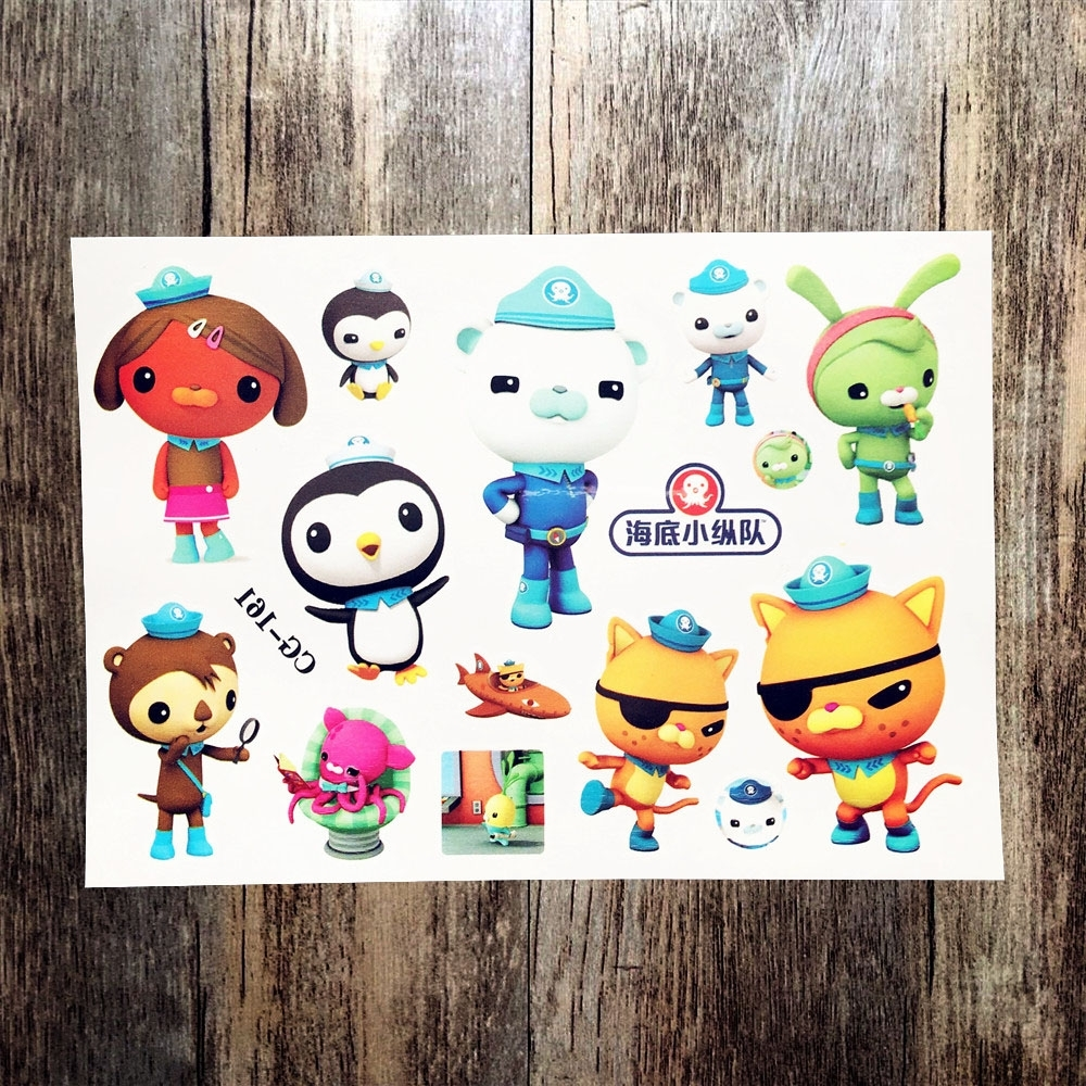 Octonauts Wall Art Throughout Famous Buy Octonauts Stickers And Get Free Shipping On Aliexpress (Gallery 5 of 15)
