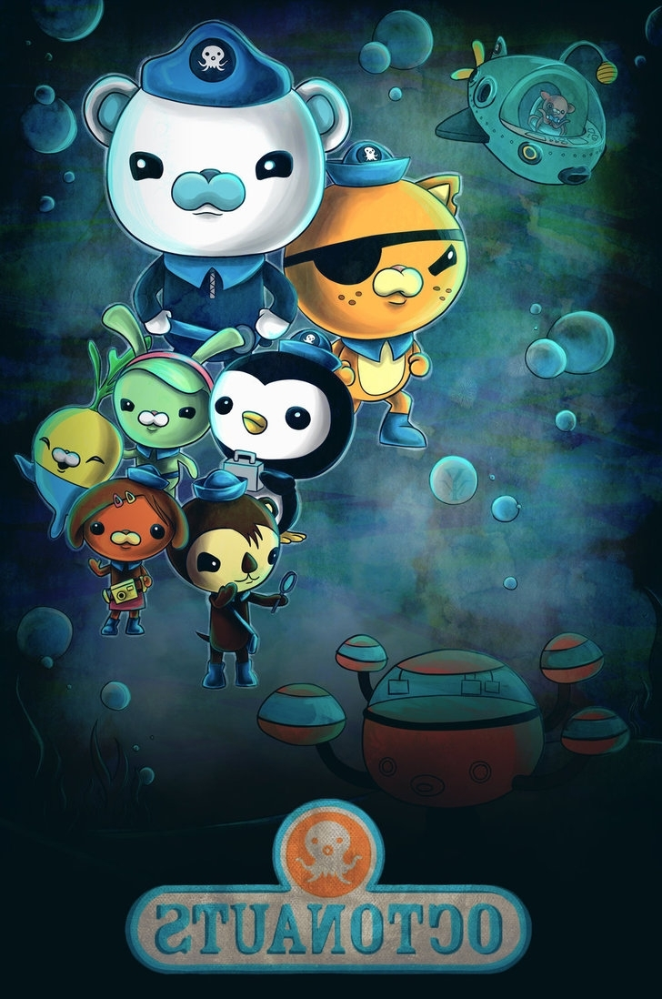 Octonauts Wall Art Within Famous Octonautsyurixmeister On Deviantart (View 8 of 15)
