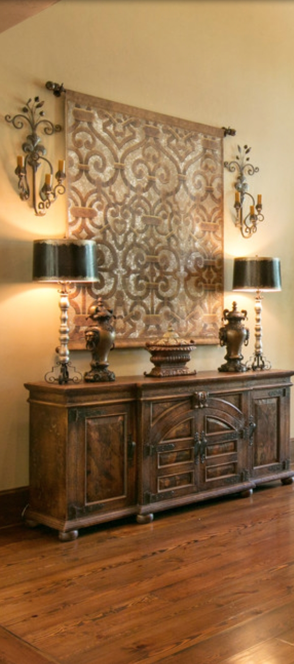 Old World, Mediterranean, Italian, Spanish & Tuscan Homes & Decor With Regard To Most Recent Italian Wall Art For Bedroom (Gallery 9 of 15)