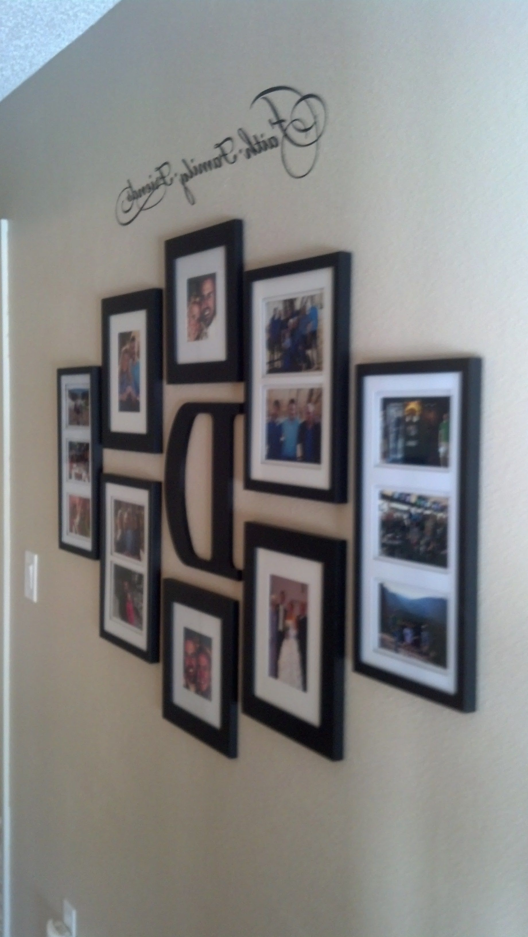 On The Walls For Most Recent Family Wall Art Picture Frames (Gallery 14 of 15)