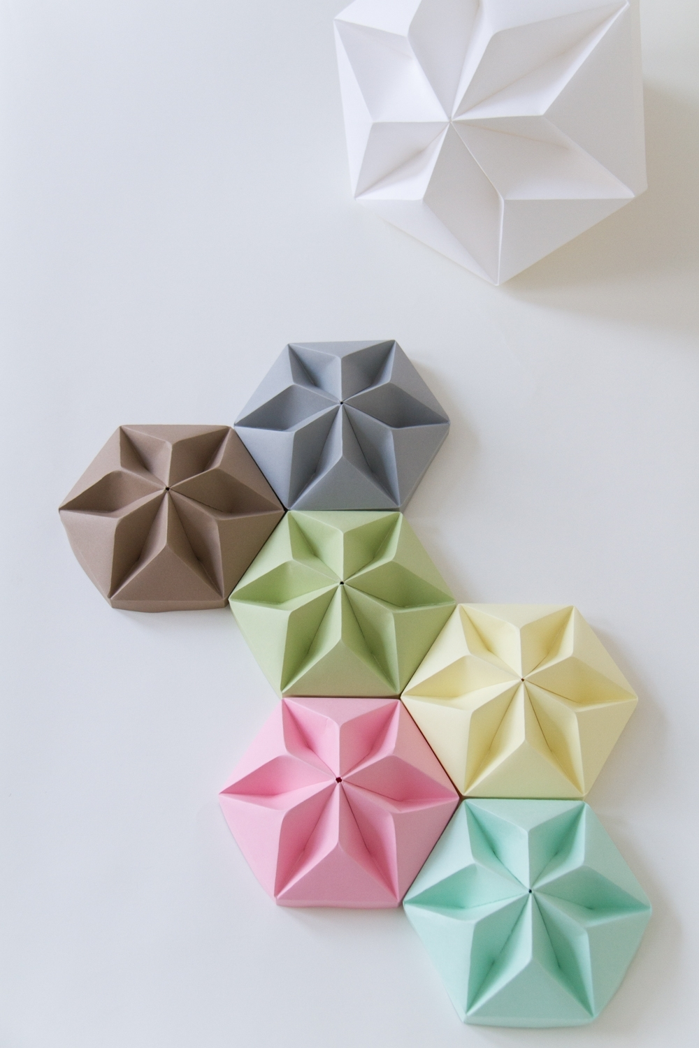 Origami Ideas, Origami And Papercraft With Regard To Diy Origami Wall Art (View 12 of 15)
