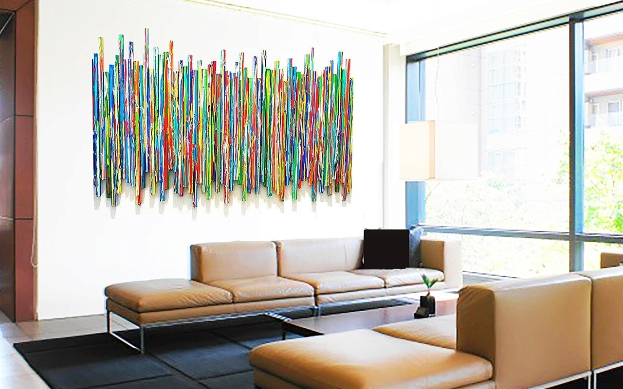 Original Contemporary Wall Art Inside Huge Abstract Wall Art (View 11 of 15)