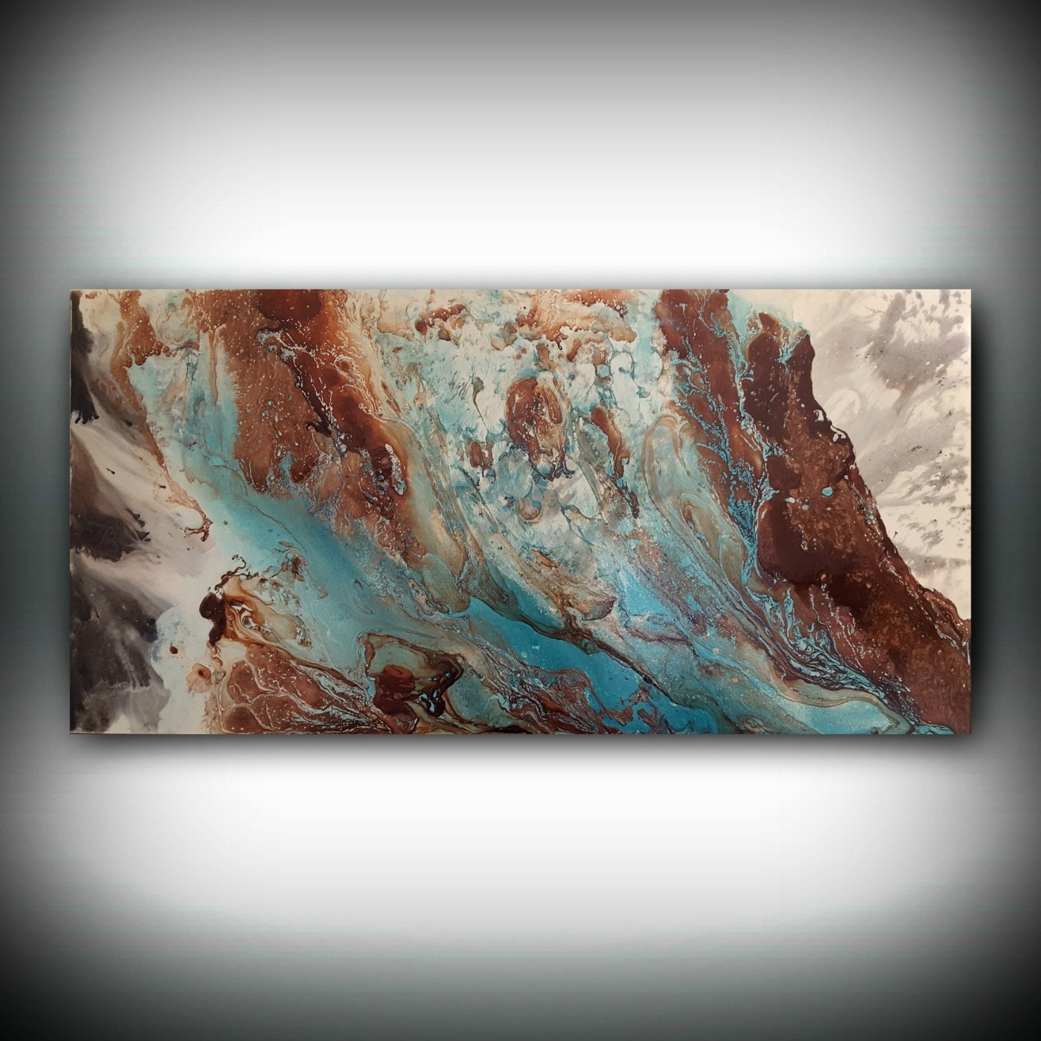 Original Painting, Art Painting Acrylic Painting Abstract Painting Intended For Most Up To Date Large Copper Wall Art (Gallery 3 of 15)
