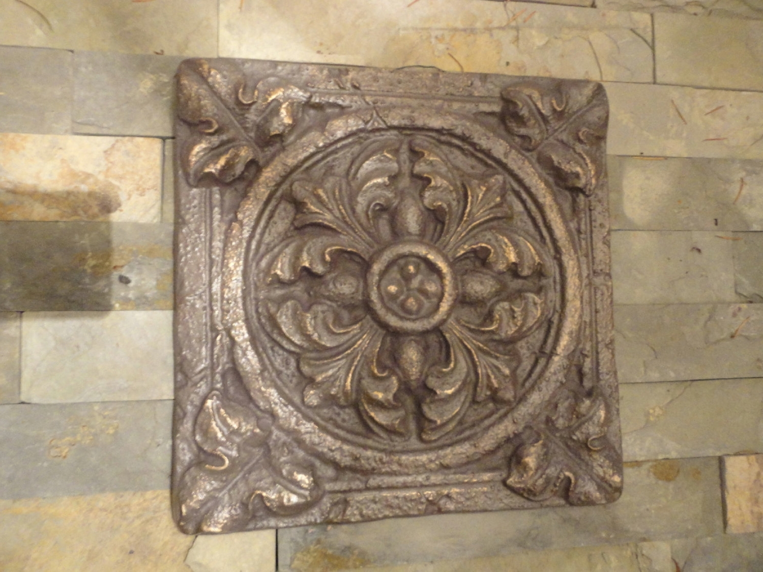 Outdoor Medallion Wall Art Inside Best And Newest Mediterranean Wall Decor / Tuscan Wall Art / Patina Bronze (Gallery 8 of 15)