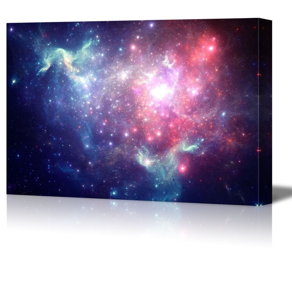 Outer Space Wall Art Throughout Well Known Wall26 – Art Prints – Framed Art – Canvas Prints – Greeting (View 9 of 15)