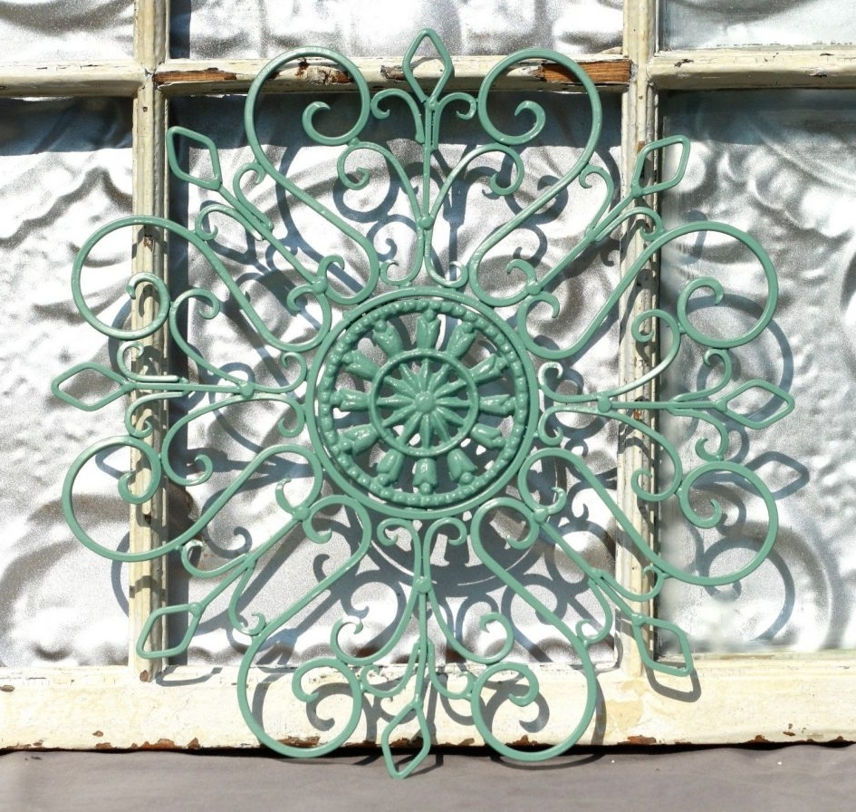Outside Metal Wall Art Pertaining To Fashionable Outside Metal Wall Art External Wall Art Wrought Iron Outdoor Wall (View 2 of 15)