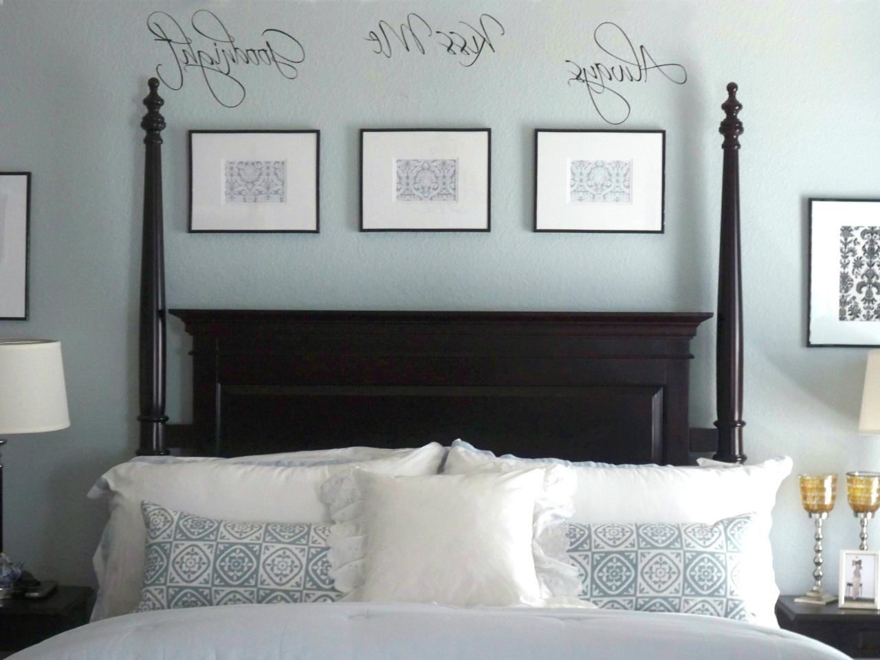 Over The Bed Wall Art In Most Current Ideas For Wall Art Over Bed • Walls Ideas (View 12 of 15)