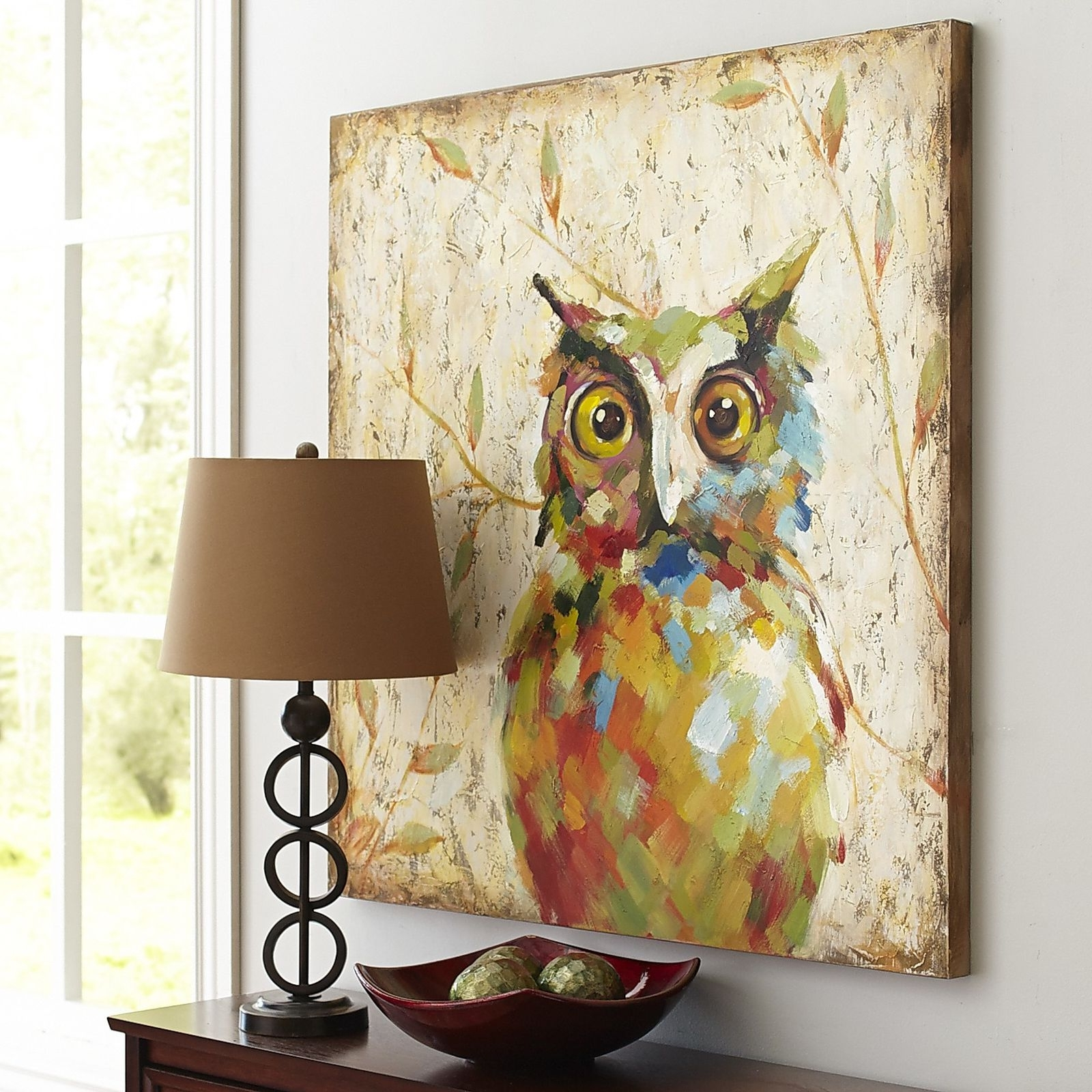 Owl Art, Owl And Paintings (View 14 of 15)