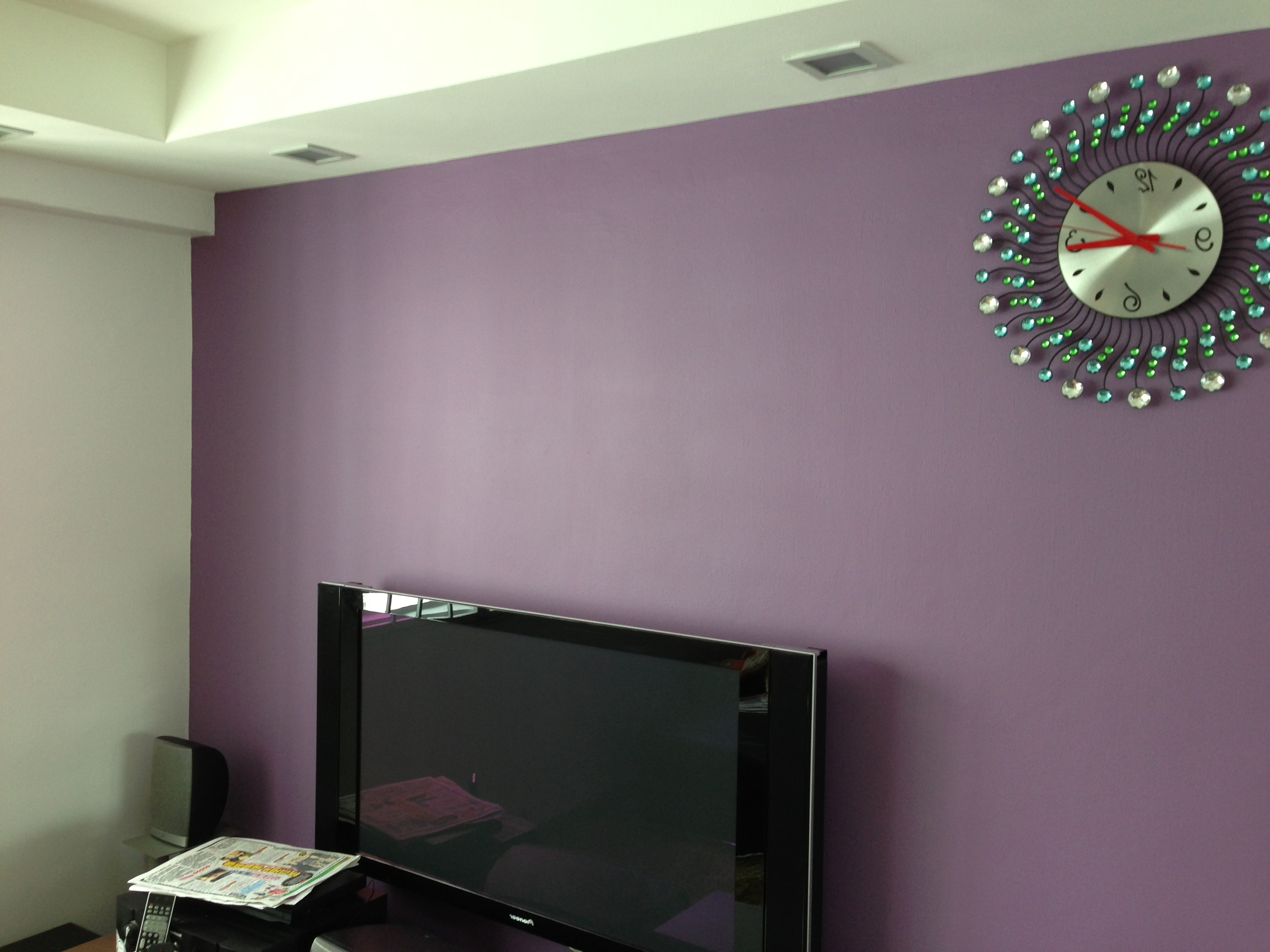Painting Is An For Grape Colour Wall Art (View 13 of 15)