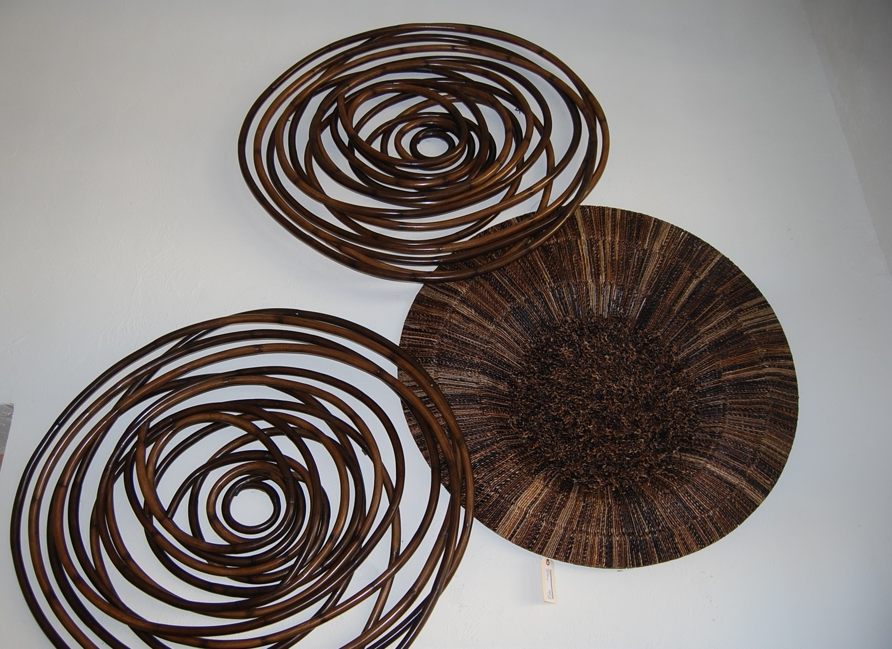 Palecek Wall Decor Wood Swirl • Walls Decor With Regard To Most Recently Released Natural Wood Wall Art (View 9 of 15)