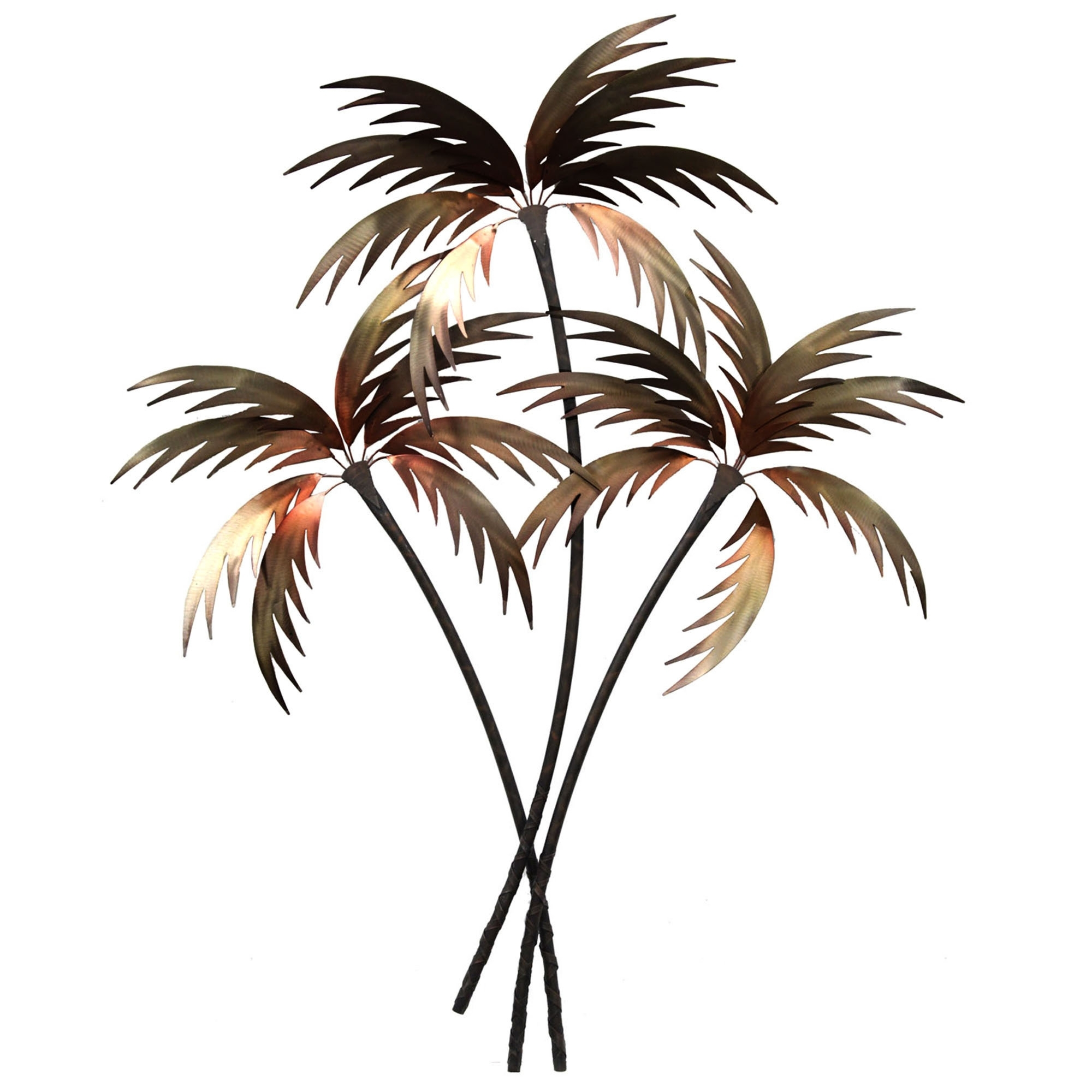 Palm Tree Wall Art, Palm Tree Bedroom Decor Palm Tree Metal With Popular Palm Tree Metal Art (View 9 of 15)