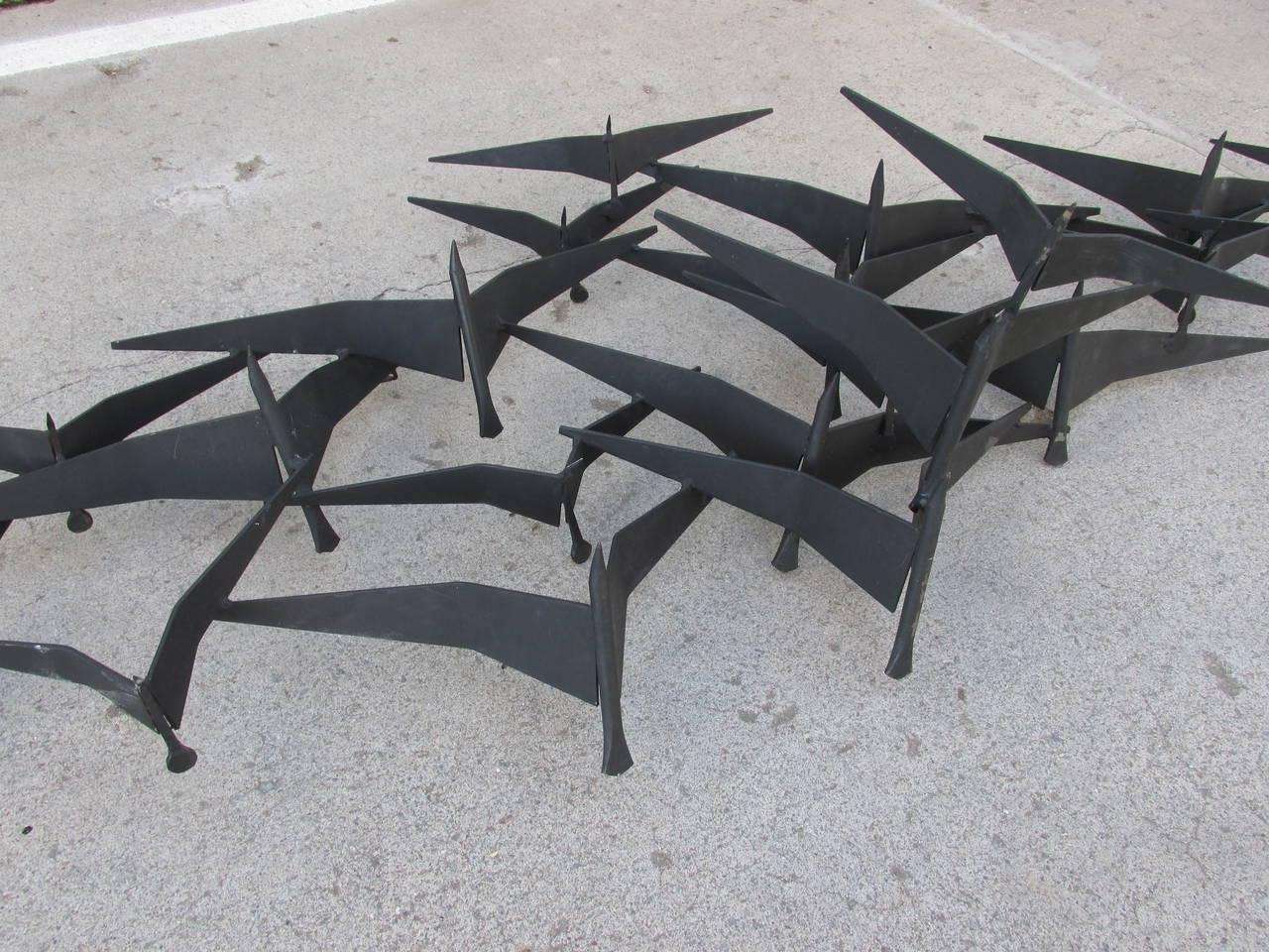 Panfan Site Regarding Metal Wall Art Birds In Flight (View 10 of 15)