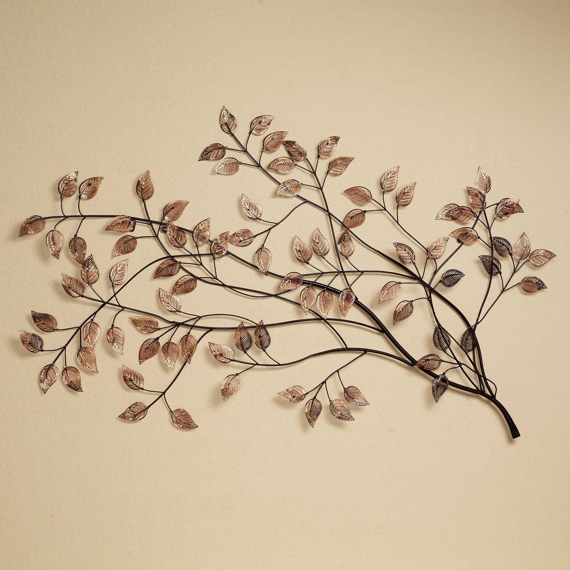 Panfan Site Regarding Most Recently Released Abstract Leaf Metal Wall Art (View 14 of 15)