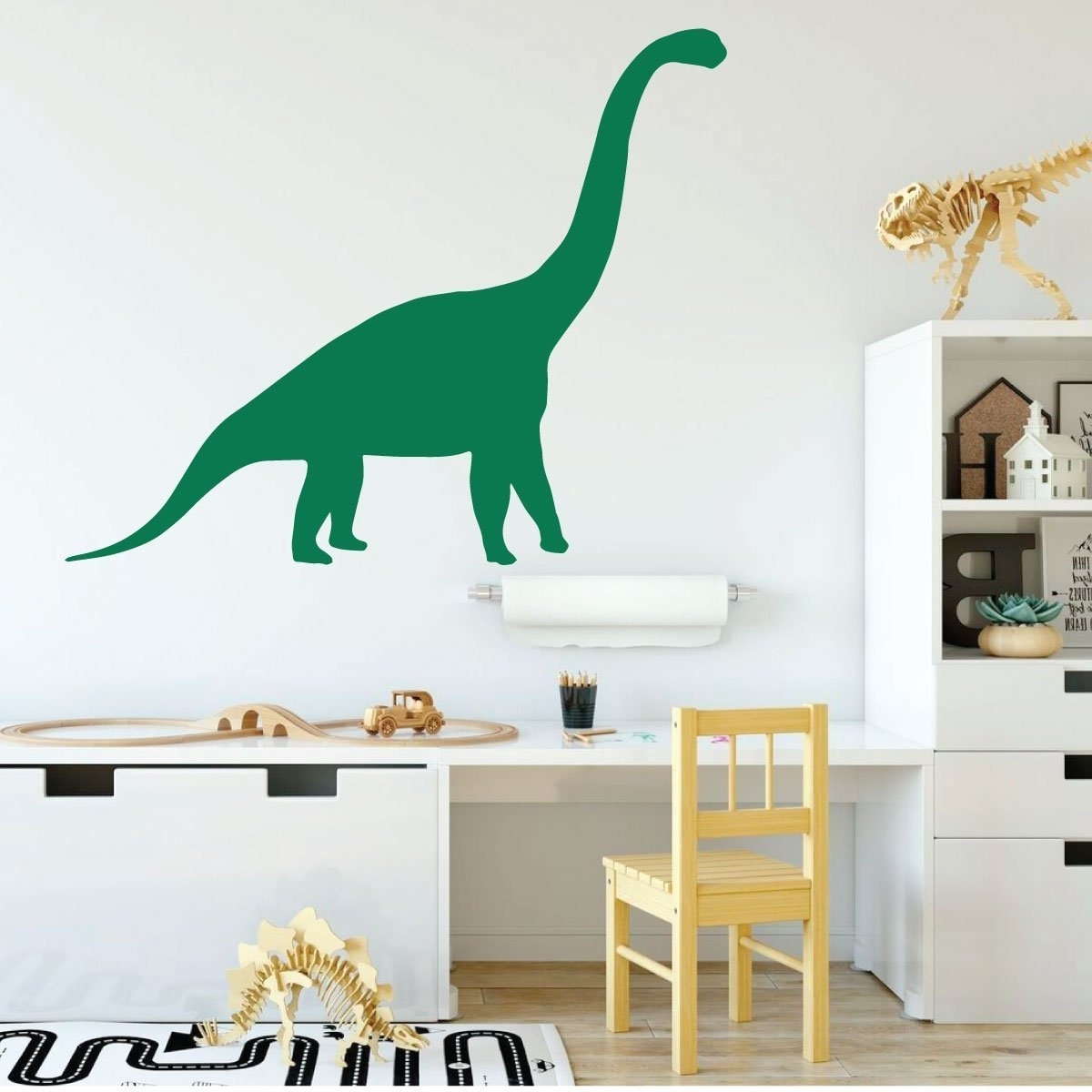 Panfan Site With Well Known Beetling Brachiosaurus Dinosaur 3D Wall Art (View 9 of 10)