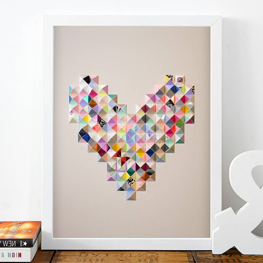 Featured Photo of Heart 3D Wall Art